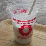 ハンモックカフェ - ドリンク写真:ドリンクはリユース(再利用)のカップで提供。