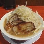釈迦力 友 - 男の修行 中太麺200g (750円)