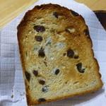 パンやきどころ RIKI - モハべレーズン 5枚切 ¥380+税