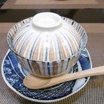 旬亭 - 茶碗蒸し