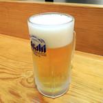 天銀 - 生ビール