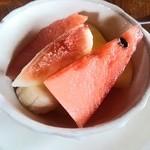 レストラン ツインハート - 料理写真:フルーツ盛合せ