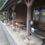 31126131 - [new]駅のホームをそのままテラスに。