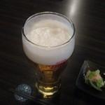 恭悦 - 乾杯の生ビール