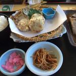 31129064 - なめろうの天ぷら定食