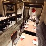 名古屋手羽先 もも焼き 唐揚げ 爽鶏屋 - 最大45名様!広々スペースでごゆっくりとおくつろぎください。