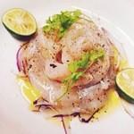 ■旬の魚介カルパッチョ