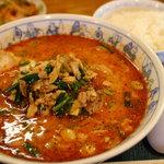 一番亭 雲出リバーサイド店 - スーパータンタン麺+ランチサービスご飯 通常942円