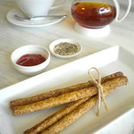 cafe N24 by kodomosekai - 「N24名物 自家製 グリッシーニ」 ※ドリンクとあわせてご注文下さい。 【平日学生割引対象】