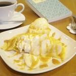 cafe N24 by kodomosekai - キャラメルバナナプレート ※ドリンクとあわせてご注文下さい。