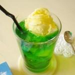 cafe N24 by kodomosekai - 懐かしのクリームソーダは濃厚な味が大人から子供まで大人気!ww
