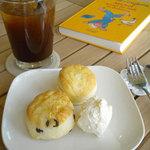 cafe N24 by kodomosekai - 「2種のスコーン」 ※ドリンクとあわせてご注文下さい。 【平日学生割引対象】