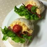 ブゥランジェリィ・アペ - 【もちもちハイジの白パン】で翌日の朝作りました