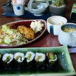 カフェ遊瑠里 - 料理写真:ランチ1500円(その日によって違います。要予約)
