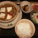 寿司の松川 - がんがん鍋定食