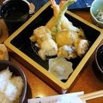日本料理ききょう - 天麩羅膳 ¥1200(税込)