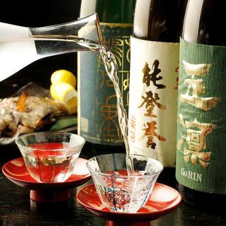 加賀・能登の美味しい地酒をご用意