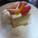 kuu. - 苺のショートケーキ