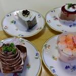 31154340 - ケーキ達4つ(2014.09月)