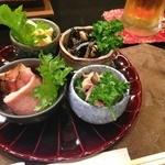 小料理 味菜 - お通し(10/1追加)