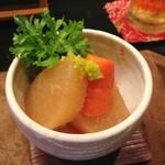 小料理 味菜 - 大根の煮物?(10/1追加)