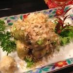 小料理 味菜 - 焼茄子(10/1追加)
