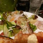 セブンストック - サラダ+前菜3種