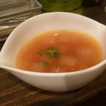 セブンストック - ワンプレートランチのスープ