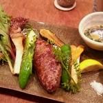 31159094 - 豚ロース、焼き野菜。ランプ♪♪