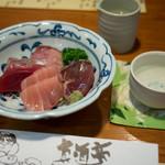 真酒亭 - 料理写真:お刺身の盛り合わせ