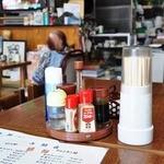 もりとう食堂 - 店内は 昔のまま 食堂のいい雰囲気