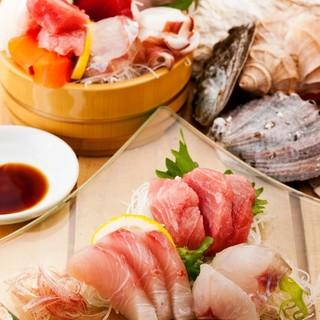 魚屋が自信を持ってご提供する豪華な海鮮料理の宴会コース!