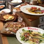 ピソリーノ - 菜園ビュッフェ