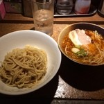 ラーメンBAR やきそばー HIT - 醤油つけめん2014.08