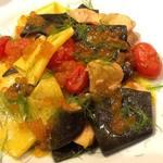 イルチッチォーネ - 銀聖 秋鮭とイクラ! サフランとフェンネルの香りたっぷりのパスタ