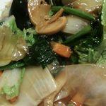 中国料理 シルクロード - 麺が見えない…