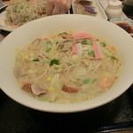 リンガーハット - 長崎ちゃんぽん麺1.5倍(583円)