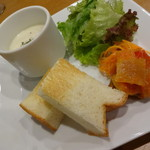 31167821 - ランチ 前菜・スープ・サラダ