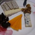 ジードロップ - チーズ盛り合わせ