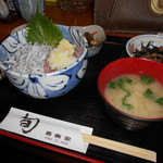 31169917 - しらす&鯵のタタキ丼