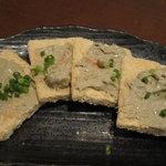 原始焼・二代目・魚々子 - 蟹味噌チーズ