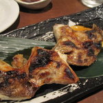 原始焼・二代目・魚々子 - 銀鱈のかま