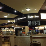 品川キッチン - 中央に「カフェ&バー」、周囲に6店舗