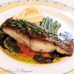 フランス料理 ビストロ・ド・リヨン - 真鯛のポアレ バルサミコソース