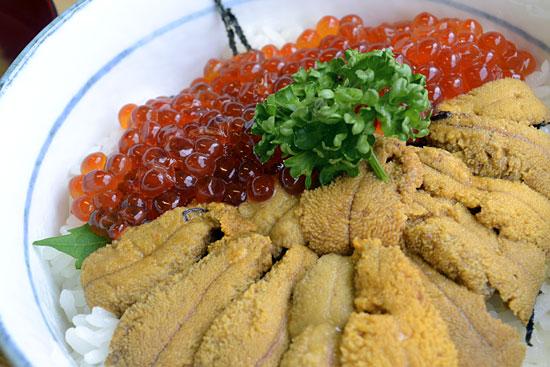 漁師の店 - ウニ・いくら丼1600円