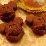 チックタック・ダイナー - ミッキー バナナブレッド:1個:190円
