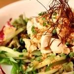 もてなし - 鶏ササミのピリ辛バンバンジー風サラダ
