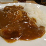 カレー料理の店 白川 - 角煮カレー 900円