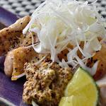 呑季 - 地鶏の塩胡椒焼き