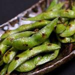森ノ宮応援酒場 菜蔵 - 焼き枝豆